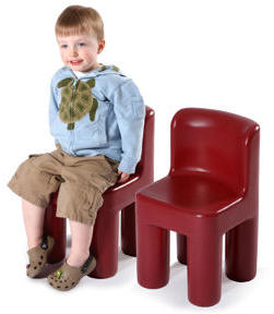 Large Red Chair 2 pack